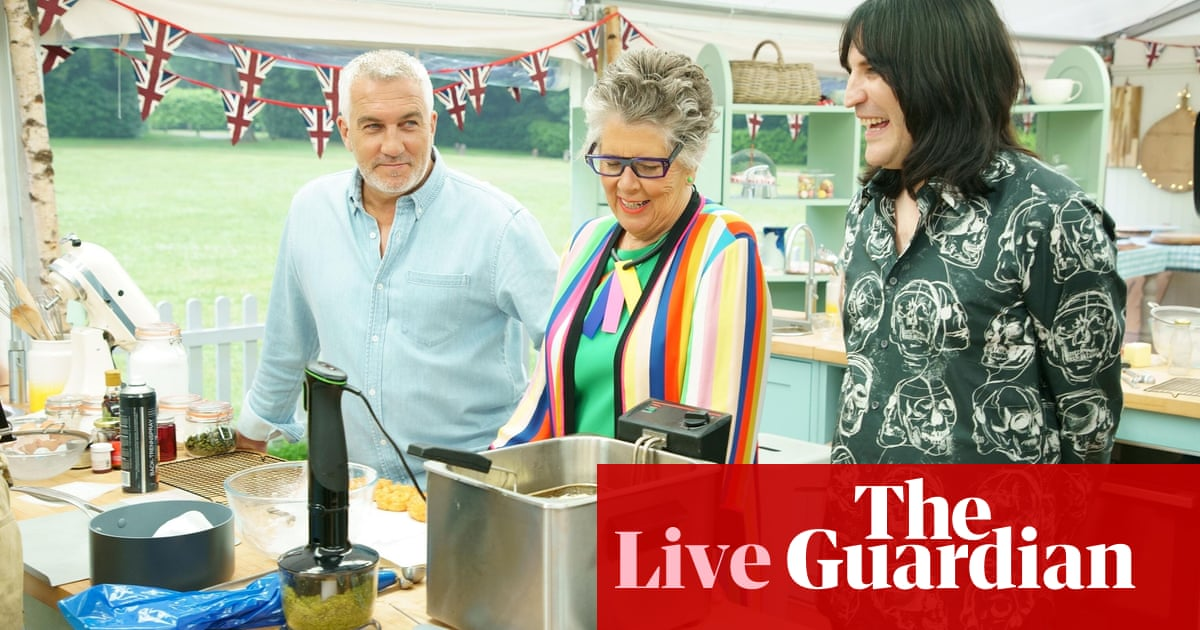 The Great British Bake Off 2021: episode five – as it happened