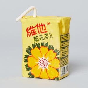 Vita Chysanthemum Tea porcelain grocery artwork  by artist Stephanie H Shih.