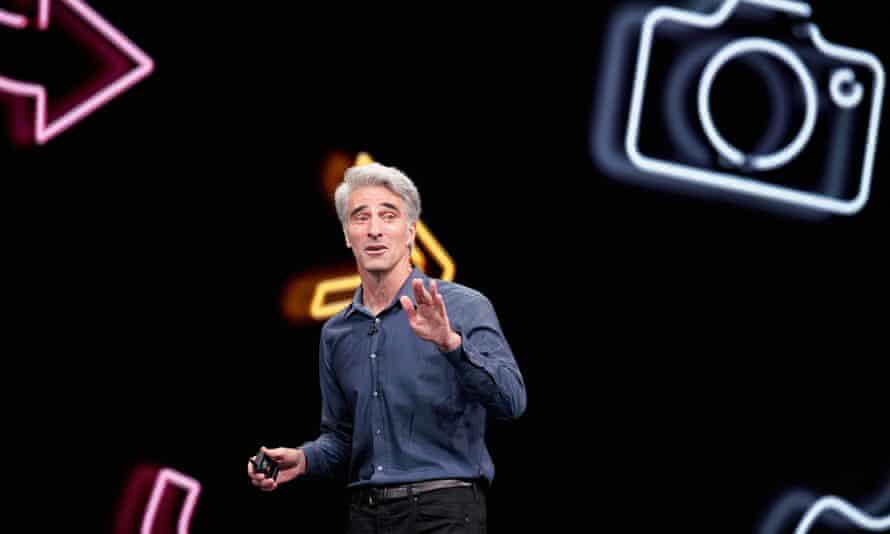 Craig Federighi, Apple senior vice president of software engineering