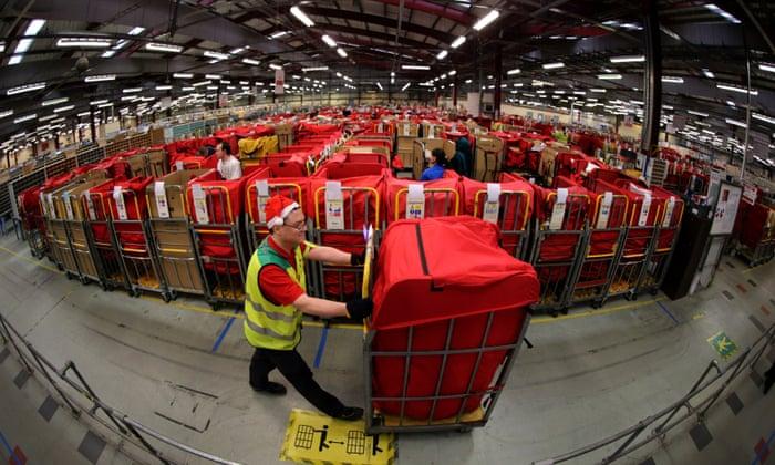 Royal Mail queues lengthen as depots close across UK | Business