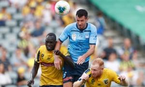 A-League, Central Coast v Sydney