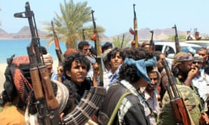 Supporters of Yemen's southern separatist movement