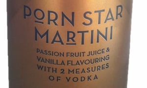 The passion fruit-based vodka mix – launched last September – is being rebranded Passion Star Martini.