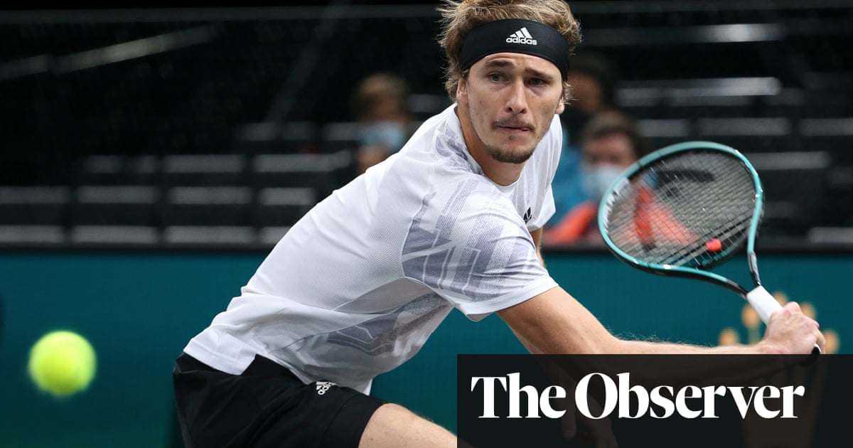Zverev powers past Nadal to set up Paris Masters final with Medvedev