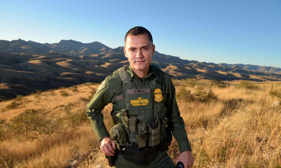 Vicente Paco: 'I'm always a Border Patrol agent regardless of my heritage'.