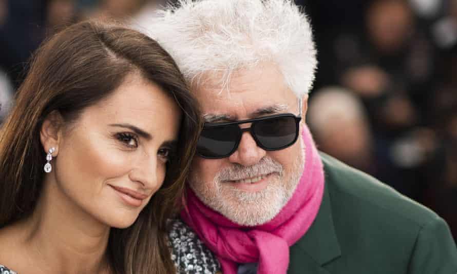 Penélope Cruz and Pedro Almodóvar