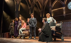Jamie Parker, centre, in Harry Potter and the Cursed Child.
