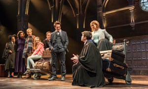 The cast of Harry Potter and the Cursed Child