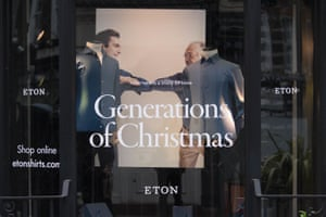 Generations of Christmas on South Molton Street