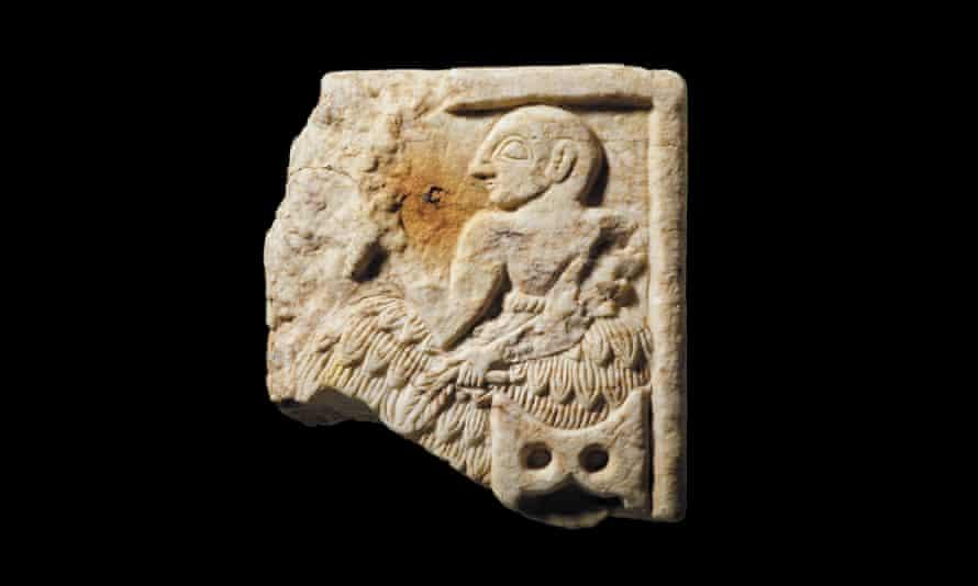 Fragment of Sumerian plaque