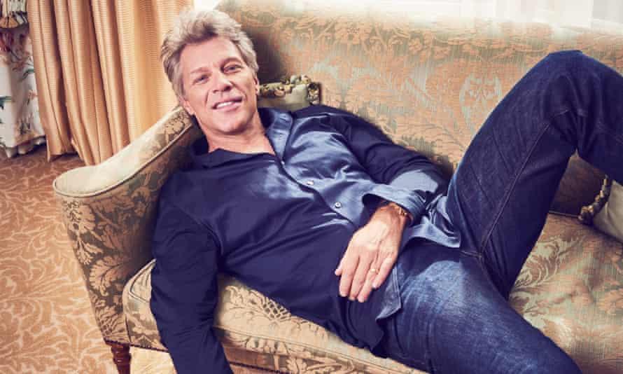 Tear it up: Jon Bon Jovi.