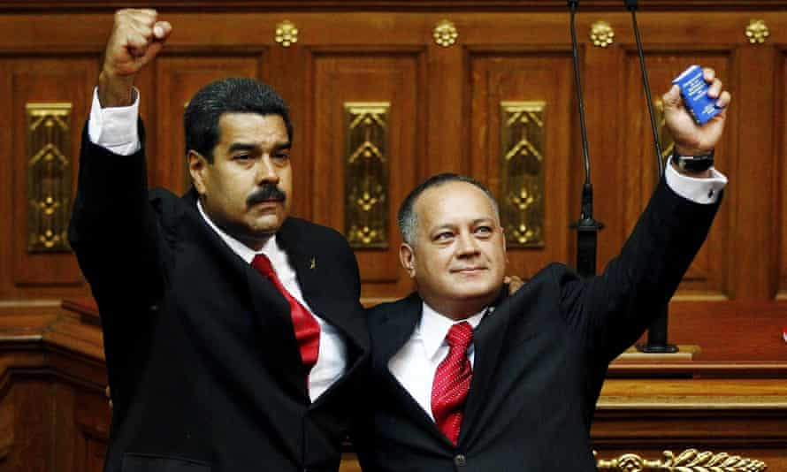 Maduro, Cabello