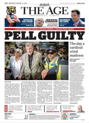 Front page Wednesday 27 February