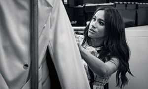 Meghan, Duchess of Sussex, pictured in the workroom of the charity Smart Works.