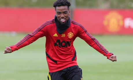 Angel Gomes signs for Lille after leaving Manchester United