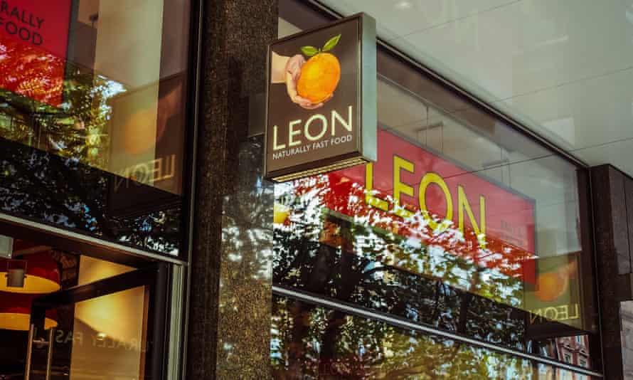 Leon restaurant in Tottenham Court Road, central London