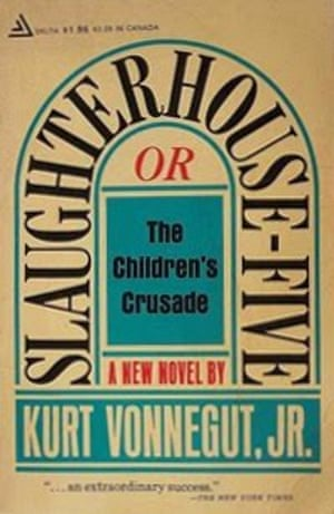 First edition cover of Slaughterhouse-Five by Kurt Vonnegut.