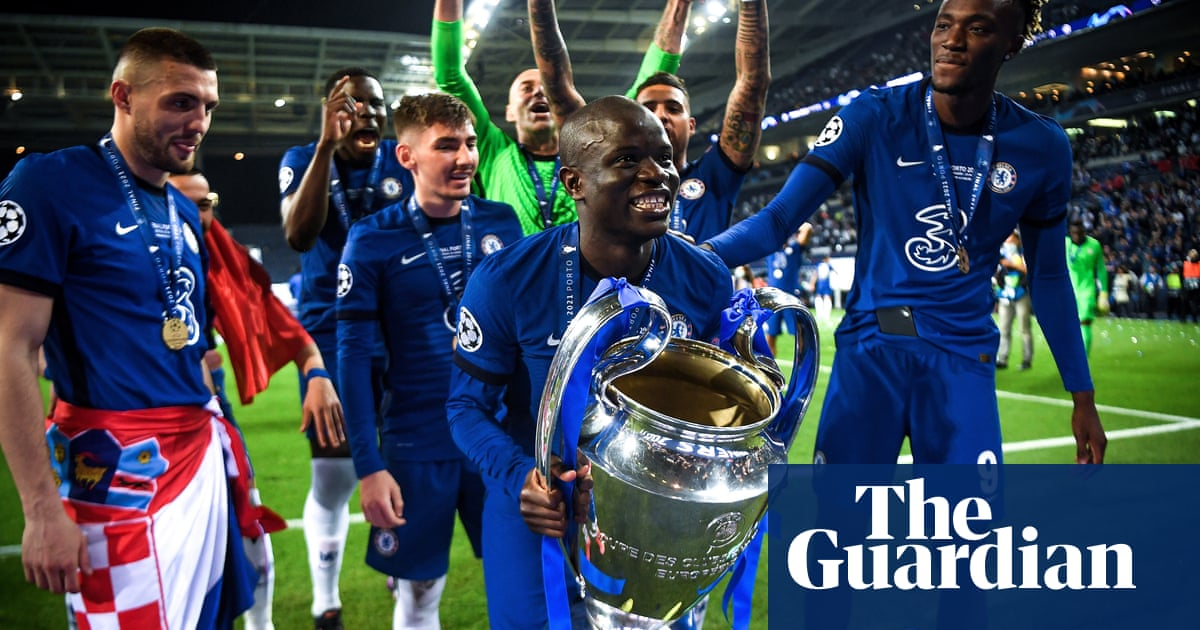 N'Golo Kanté: the one-man midfield who conquered Europe for Chelsea