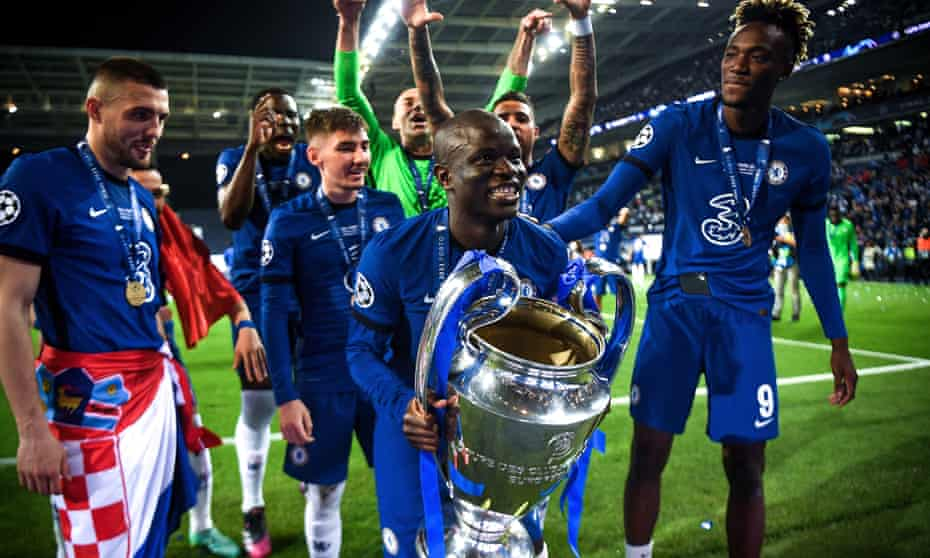 N'Golo Kanté: the one-man midfield who conquered Europe for Chelsea |  N'Golo Kanté | The Guardian