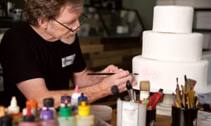Jack Phillips at Masterpiece Cakeshop in Lakewood, Colorado.