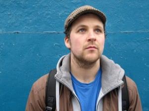 Steven Camden, AKA Polarbear, who was also nominated for an Arts Foundation award