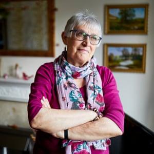 Christine Gawthorpe at home