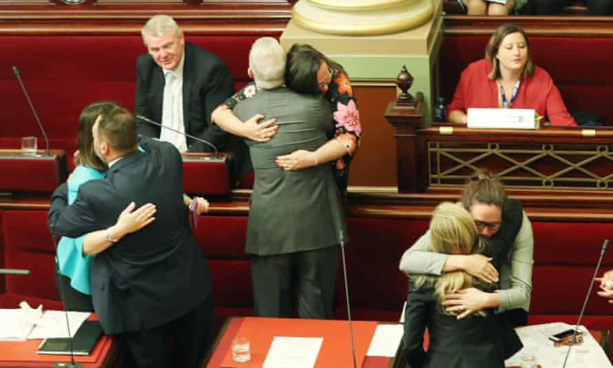 Victoria's Voluntary Assisted Dying bill passed 22 to 18 on a conscience vote.