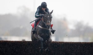Noel Fehily, riding Altior, clears the last to enjoy one of the easiest successes of his career at Kempton on 21 November.