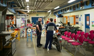Motorcycle maintenance course