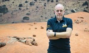 British scientist Mark McCaughrean
