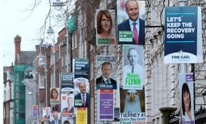 'Ranged against the government are Fianna Fail and a raft of leftwing groups, ranging from Sinn Féin to the small but vigorous Trotskyist parties, to the Greens and the new Social Democrats and various single-issue independents.'