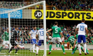 Will Grigg gives Northern Ireland hope in stoppage time.