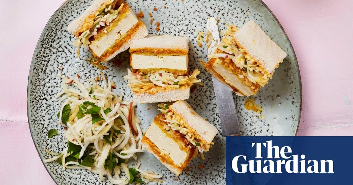 Meera Sodha's vegan recipe for tofu katsu sando with celeriac and apple slaw | The new vegan