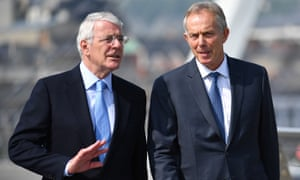 Sir John Major and Tony Blair have both called for a second referendum.