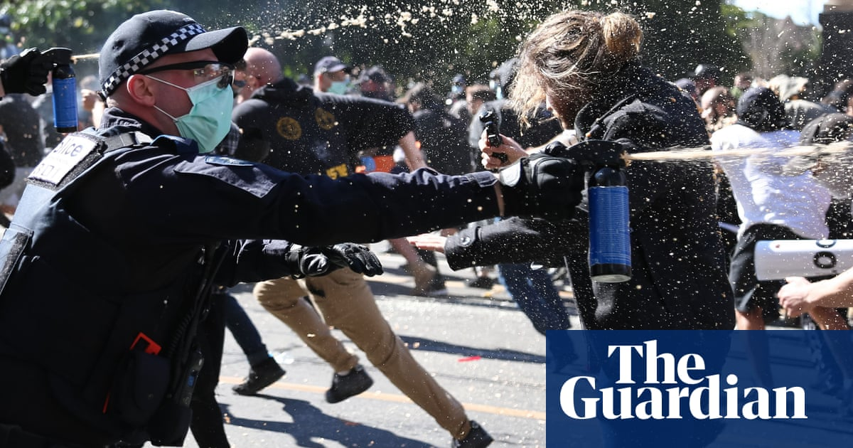 Police say Melbourne anti-lockdown protest 'most violent in nearly 20 years'