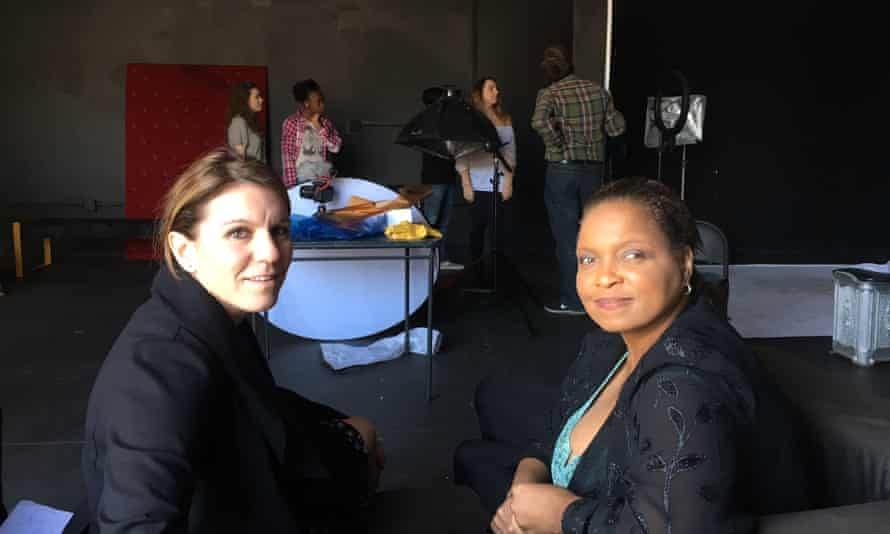 Sara Gertler, left, and Nichelle Rodriguez, plan to run social media camps for teens in LA, Britain, Australia and Japan.