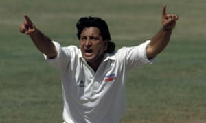 Abdul Qadir in 1993. He was recognised as one of the best spin bowlers of all time.