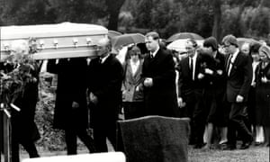 The funeral of Pauline Reade.