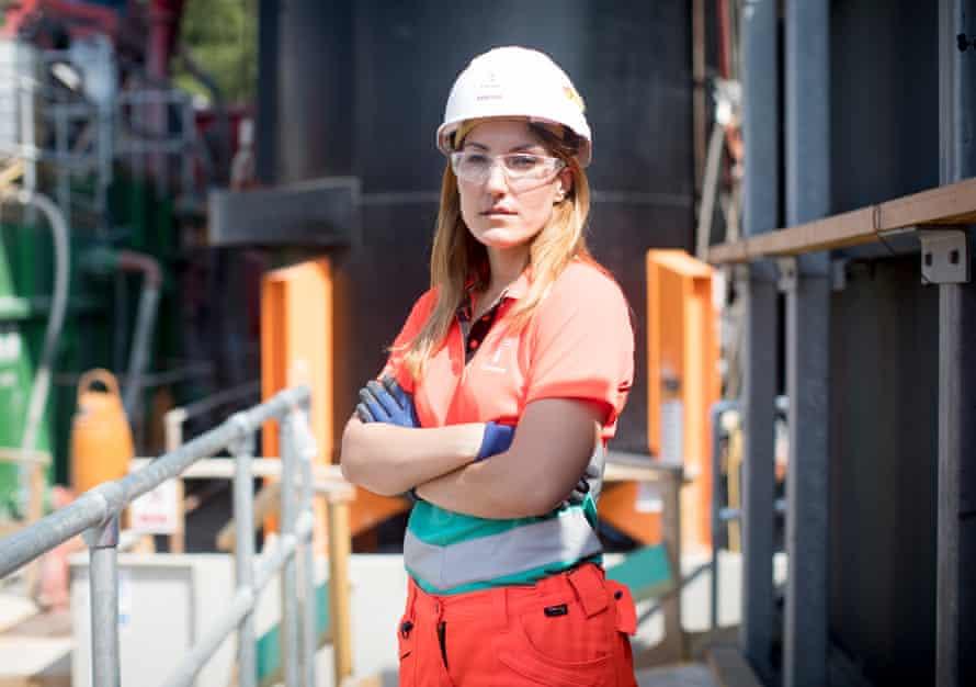 Dimitra Koutsi, a construction engineer at Tideway.
