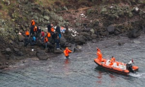 The coastguard rescued people stranded on the island in Balıkesir province.