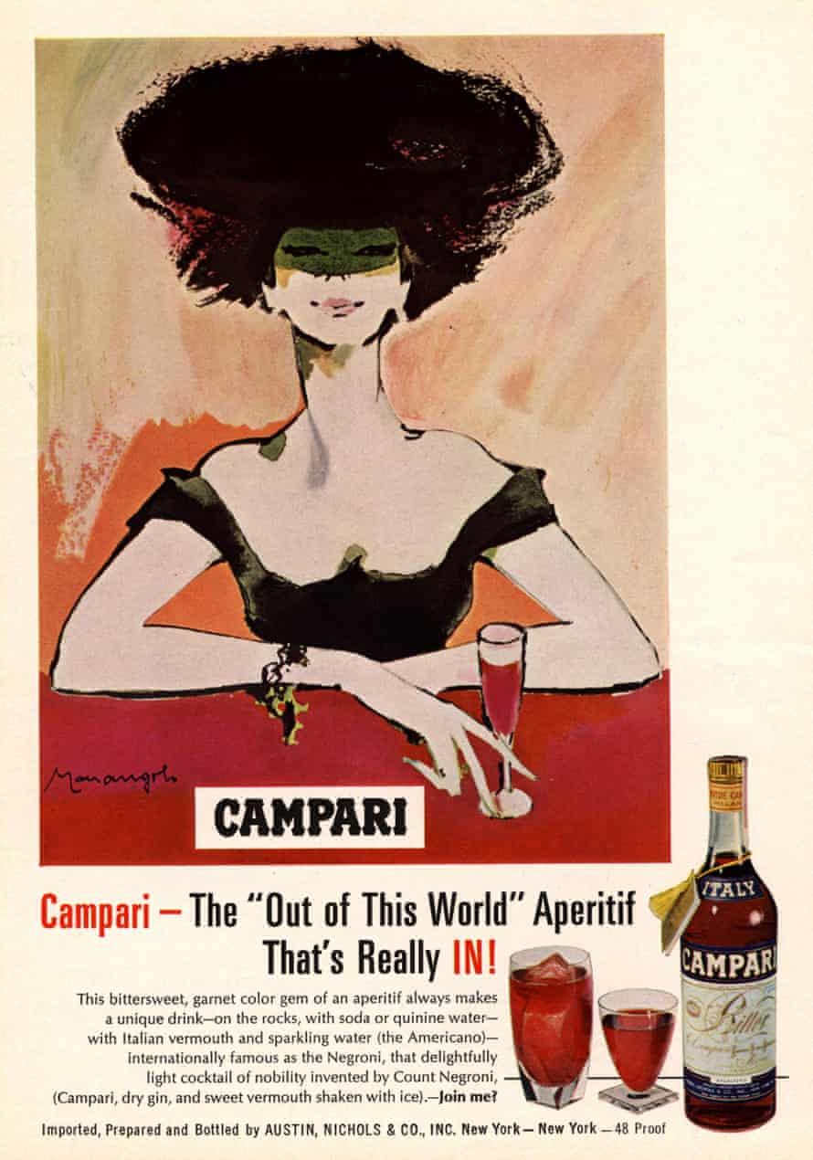 A 1960s Campari advert