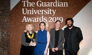 Employability and entrepreneurship award winner: Norwich University of the Arts.