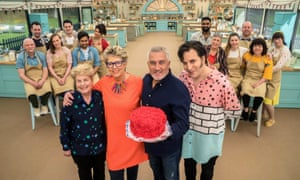 Paul Hollywood and his fellow Bake Off judges.