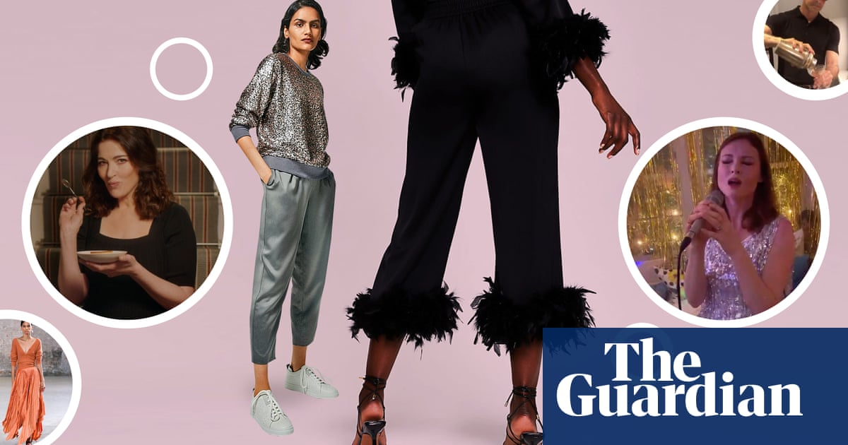 LBD out, kitchen disco in: NYE 2020's pandemic party trend