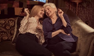 Laura Linney and Olympia Dukakis in Tales of the City, now on Netflix.