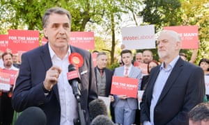 New Liverpool metro mayor Steve Rotheram with Labour leader Jeremy Corbyn.