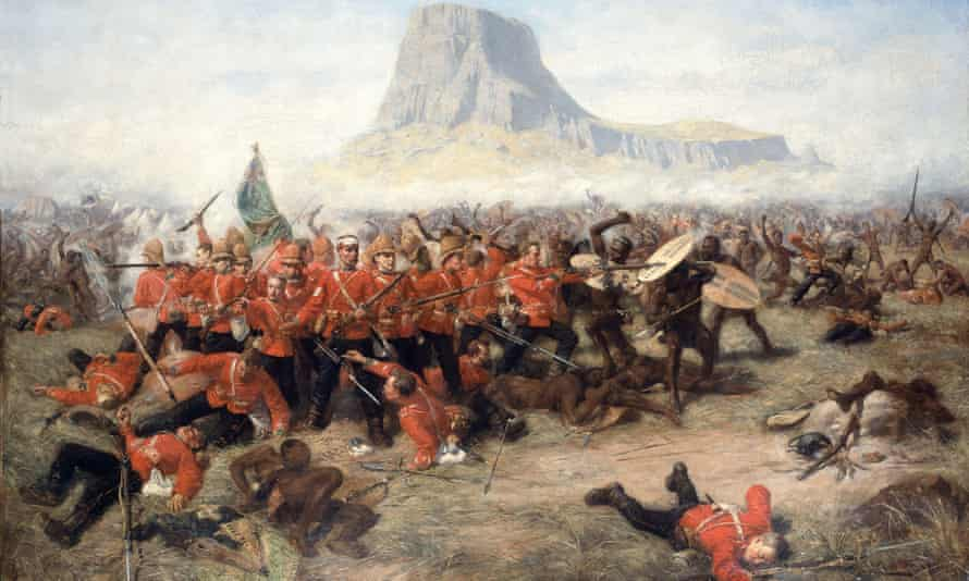 Charles Edwin Fripp's The Last Stand at Isandlwana, 1885