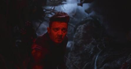 Jeremy Renner in Avengers: Endgame.
