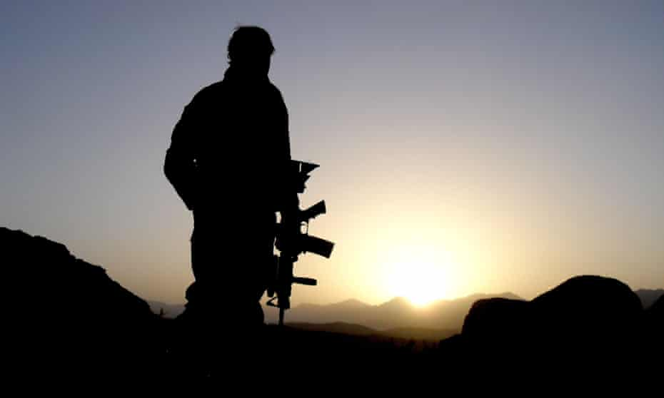 An Australian soldier in Afghanistan. An ABC expose in 2017 revealed allegations of misconduct by Australian special forces in Afghanistan.