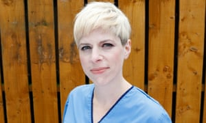 Leah Hazard, midwife